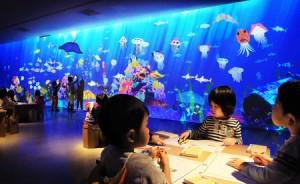 横浜の水族館